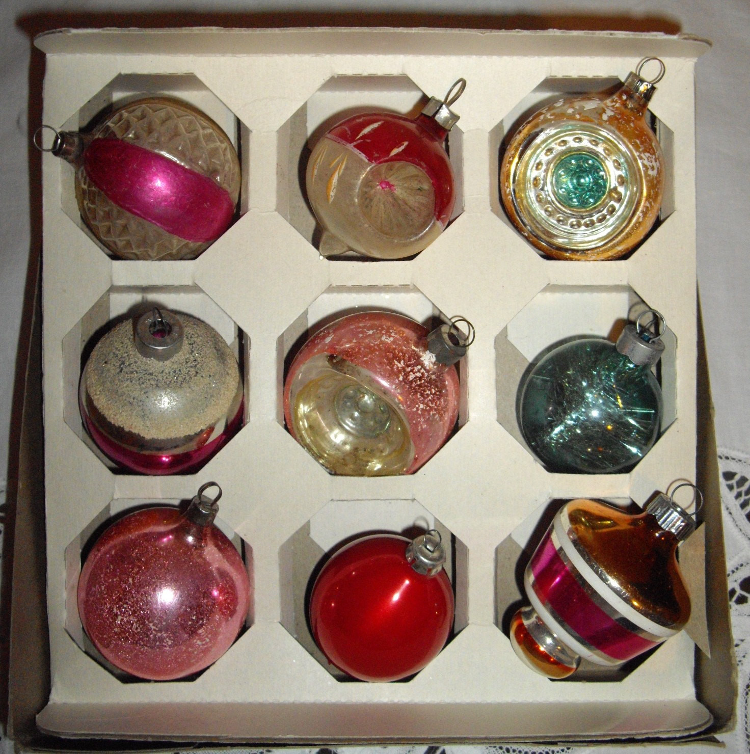 Lovely Vintage Antique Mercury Glass Christmas ornaments Vintage Glass ornaments Of New 48 Ideas Vintage Glass ornaments