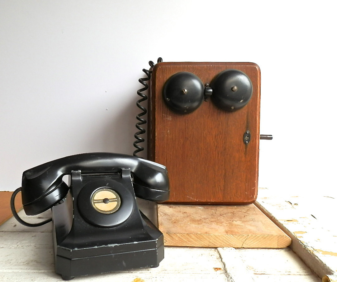Lovely Vintage Bakelite Telephone Antique Wall by Dairyfarmantiques Old Wall Telephone Of Marvelous 42 Models Old Wall Telephone
