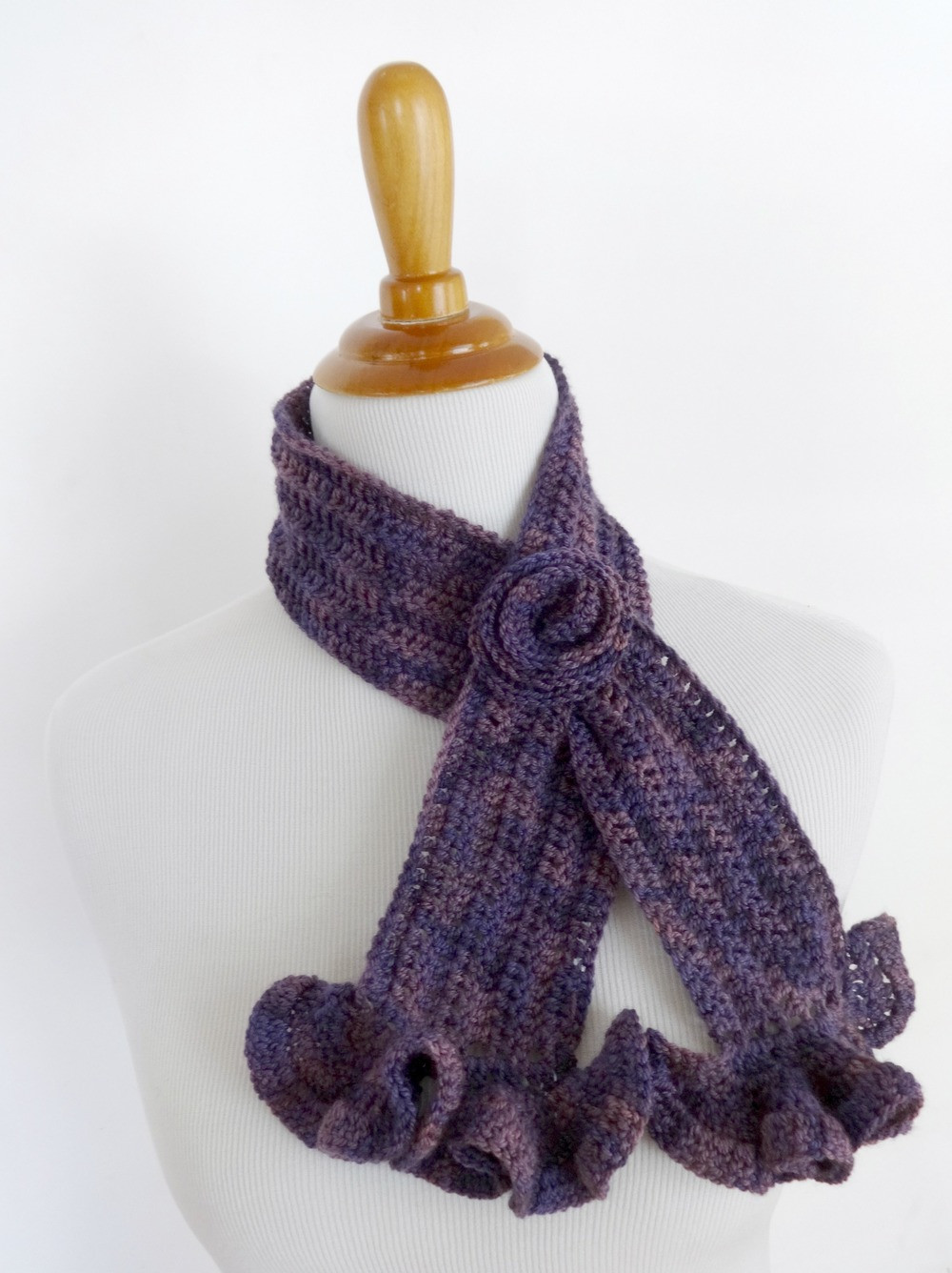 Lovely Vintage Blossom Crochet Scarf Crochet Stitches for Scarves Of Gorgeous 48 Ideas Crochet Stitches for Scarves