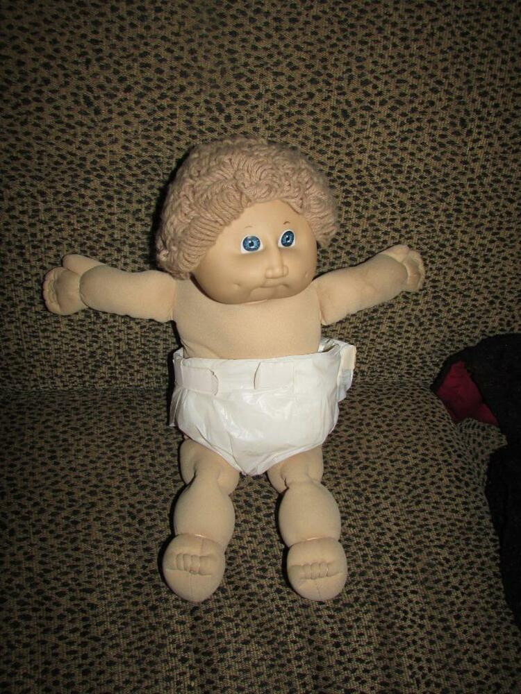 Lovely Vintage Cabbage Patch Doll 1985 Curly Hair Baby Collectible Cabbage Patch Dolls Of Luxury 42 Pics Collectible Cabbage Patch Dolls