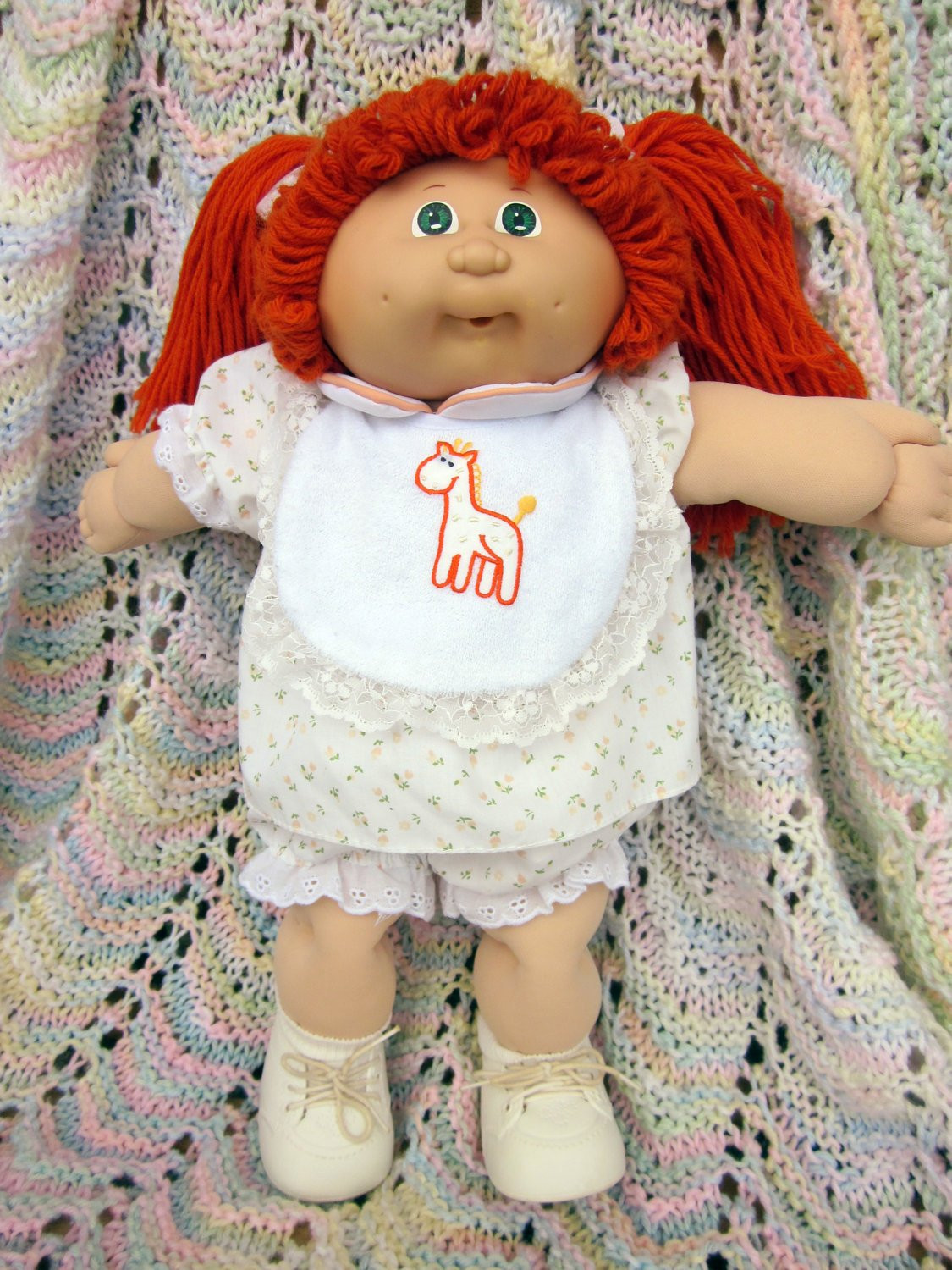 Lovely Vintage Cabbage Patch Kid Doll Red Hair Green Eyes Collectible Cabbage Patch Dolls Of Luxury 42 Pics Collectible Cabbage Patch Dolls