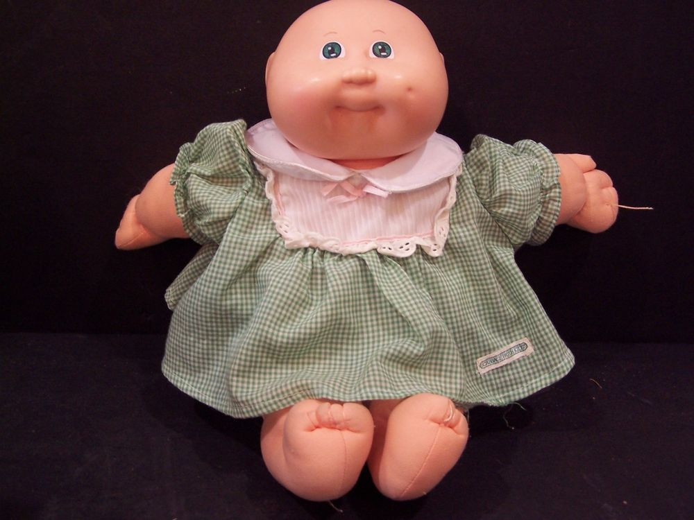 Lovely Vintage Cabbage Patch Kids Doll Preemie No Hair Green Eyes Old Cabbage Patch Doll Of Wonderful 47 Ideas Old Cabbage Patch Doll