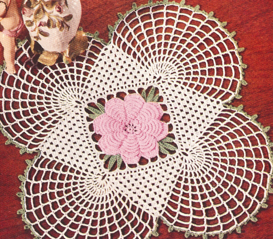 Lovely Vintage Crochet Irish Rose Square Doily Motif Pattern X Vintage Crochet Patterns Of Attractive 43 Pictures Vintage Crochet Patterns