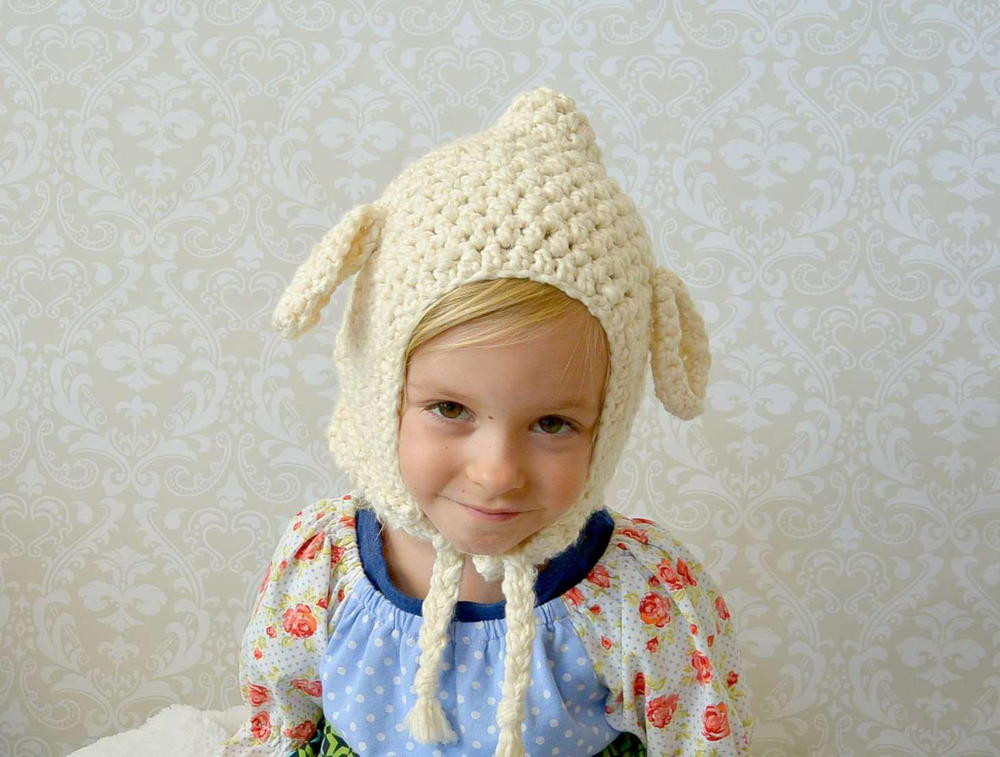 Lovely Vintage Lamb Crochet toddler Hat Pattern Lamb Hat Of Awesome 46 Images Lamb Hat