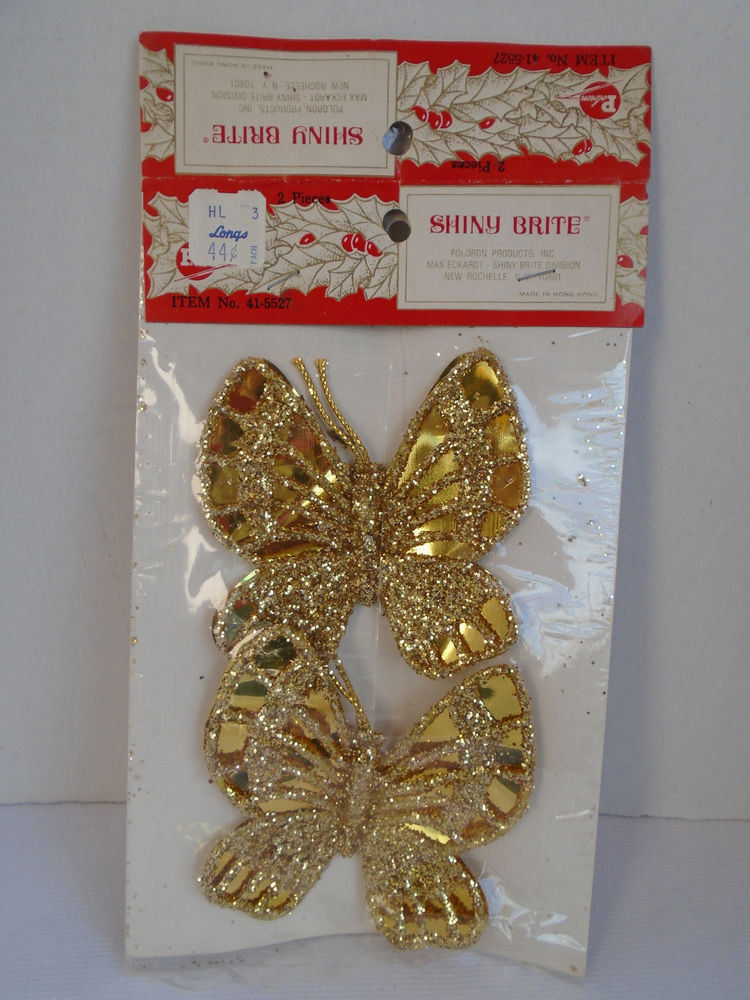 Lovely Vintage Shiny Brite Gold Foil butterfly Christmas Shiny Brite ornaments Vintage Of Marvelous 46 Models Shiny Brite ornaments Vintage