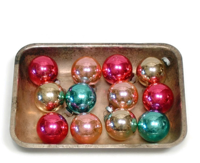 Lovely Vintage Shiny Brite ornaments Set Of Twelve Small 1950s Shiny Brite ornaments Vintage Of Marvelous 46 Models Shiny Brite ornaments Vintage
