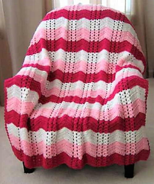 Lovely White Chocolate Strawberry Double Shell Ripple Double Crochet Afghan Of Fresh 42 Images Double Crochet Afghan