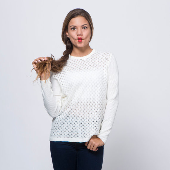 Lovely White Crochet Sweater White Crochet Sweater Of Wonderful 44 Ideas White Crochet Sweater