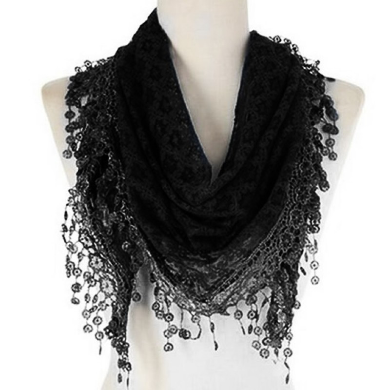 Lovely wholesale Women S Fashion Lightweight soft Lace Infinity Lace Infinity Scarf Of Charming 45 Ideas Lace Infinity Scarf