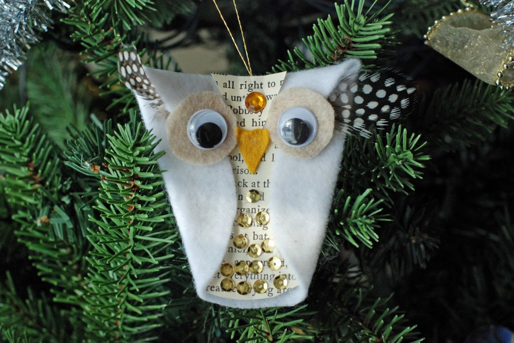 Lovely whoo Liday Felt Owl ornament Owl Christmas Decorations Of Delightful 49 Pics Owl Christmas Decorations