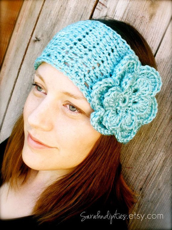 Lovely Wide Boho Headband with Flower Instant Download Crochet Patterns for Headbands Of Lovely 49 Ideas Crochet Patterns for Headbands