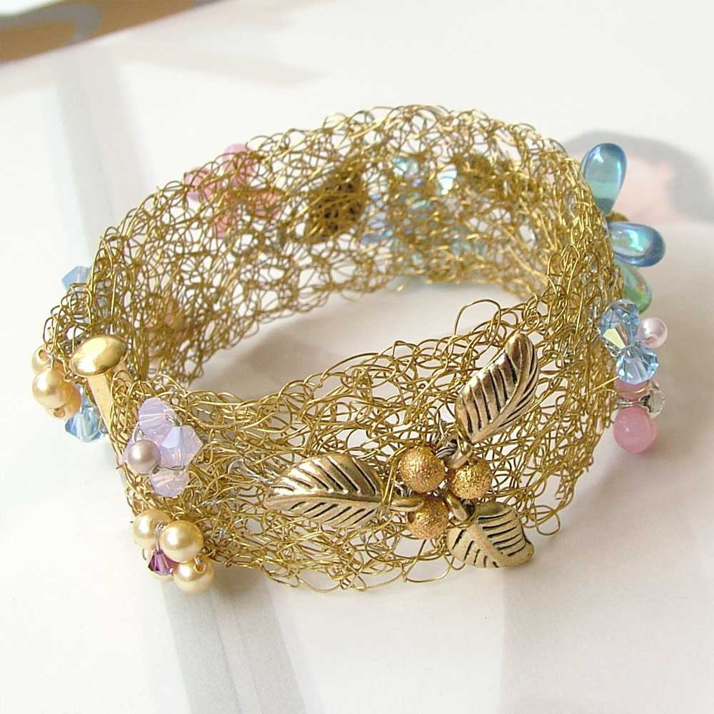 Lovely Wire Crochet Bracelet Wired to Go ・clearlyhelena Wire Crochet Of Wonderful 40 Photos Wire Crochet