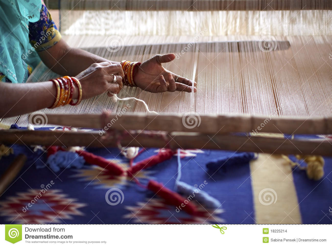 Lovely Woman Hand Weaving A Carpet In India Stock Image Hand Weaving Of Innovative 45 Ideas Hand Weaving
