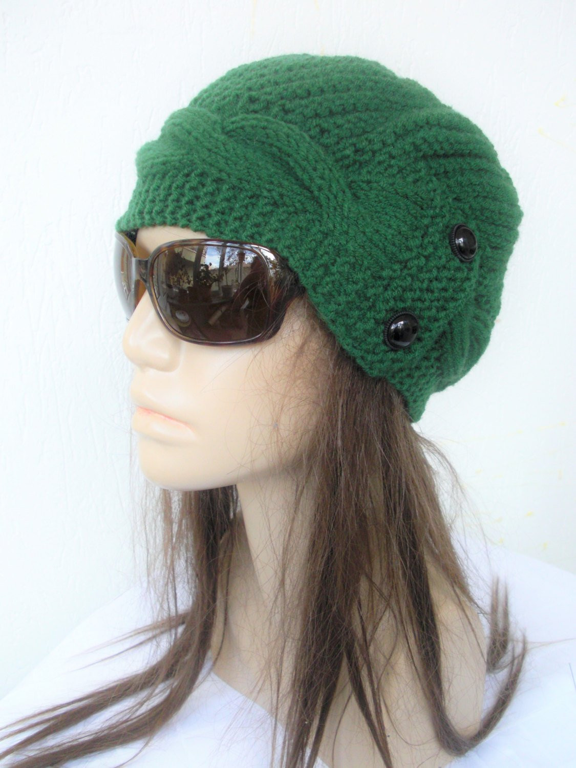 Lovely Women Hat Knit Cloche Hat Winter Hat Gift for Her Green Knit Cloche Hat Of Attractive 40 Photos Knit Cloche Hat