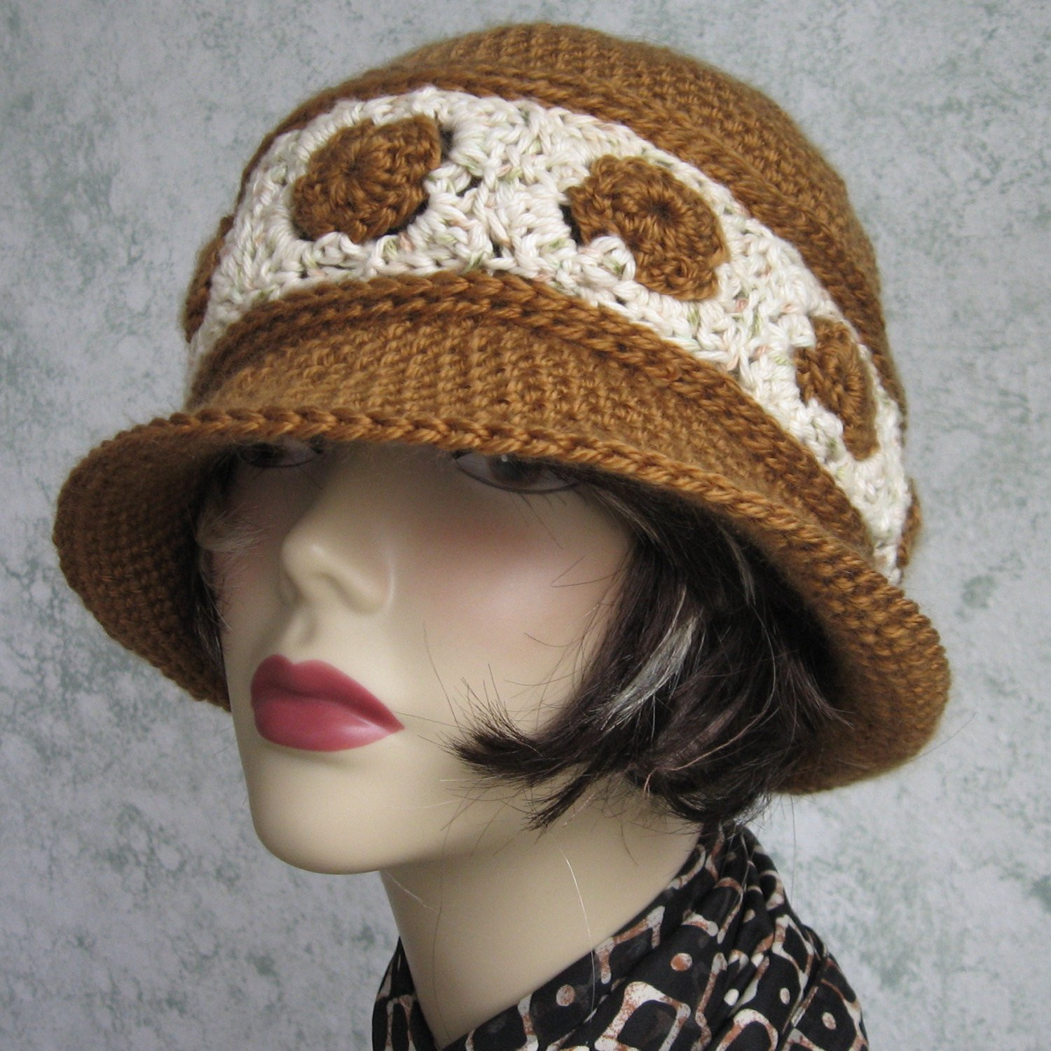 Lovely Womens Crochet Hat Pattern Brimmed Summer Hat with Contrasting Crochet Summer Hat Pattern Of Incredible 46 Photos Crochet Summer Hat Pattern