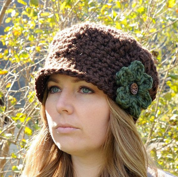 Lovely Womens Crochet Hats with Flowers Ladies Crochet Hats Of Contemporary 46 Pics Ladies Crochet Hats