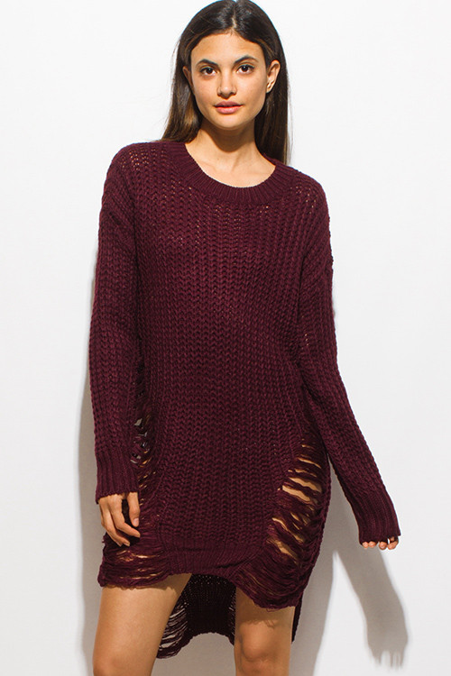 Lovely Womens Dark Red Sweater Crochet Patterns for Women's Sweaters Of Top 48 Photos Crochet Patterns for Women\'s Sweaters