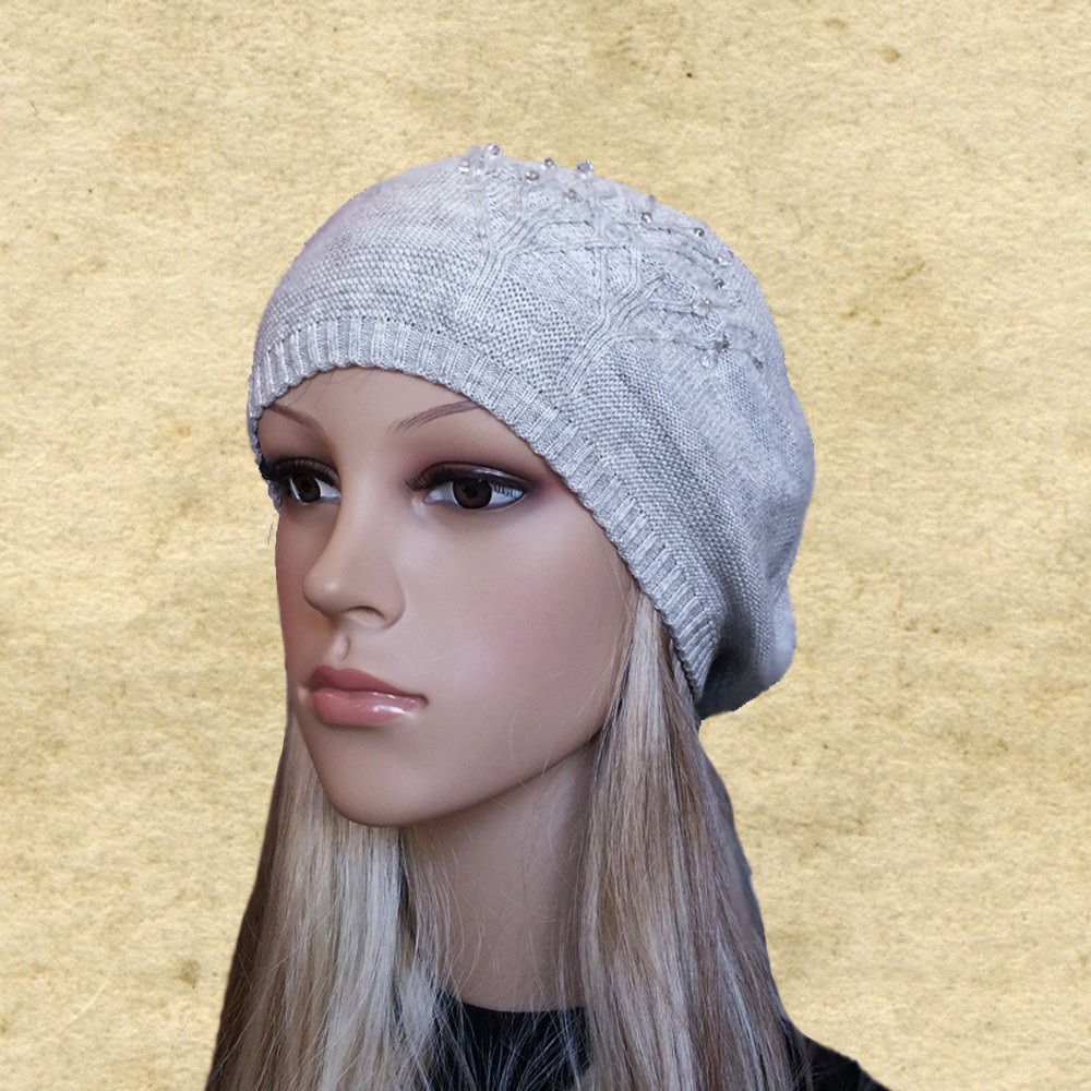 Lovely Womens Knit Beret Knitted Wool Beret La S Wool Beret Knit Beret Of Beautiful 41 Models Knit Beret