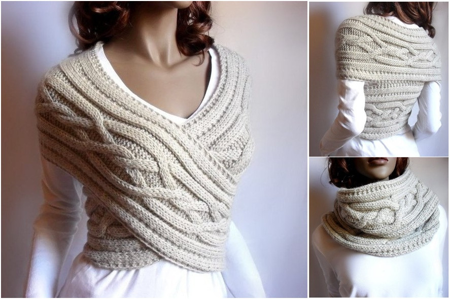 Lovely Wonderful Diy Knitted Cowl Scarf with Free Pattern Free Knitted Cowl Patterns Of Incredible 45 Images Free Knitted Cowl Patterns