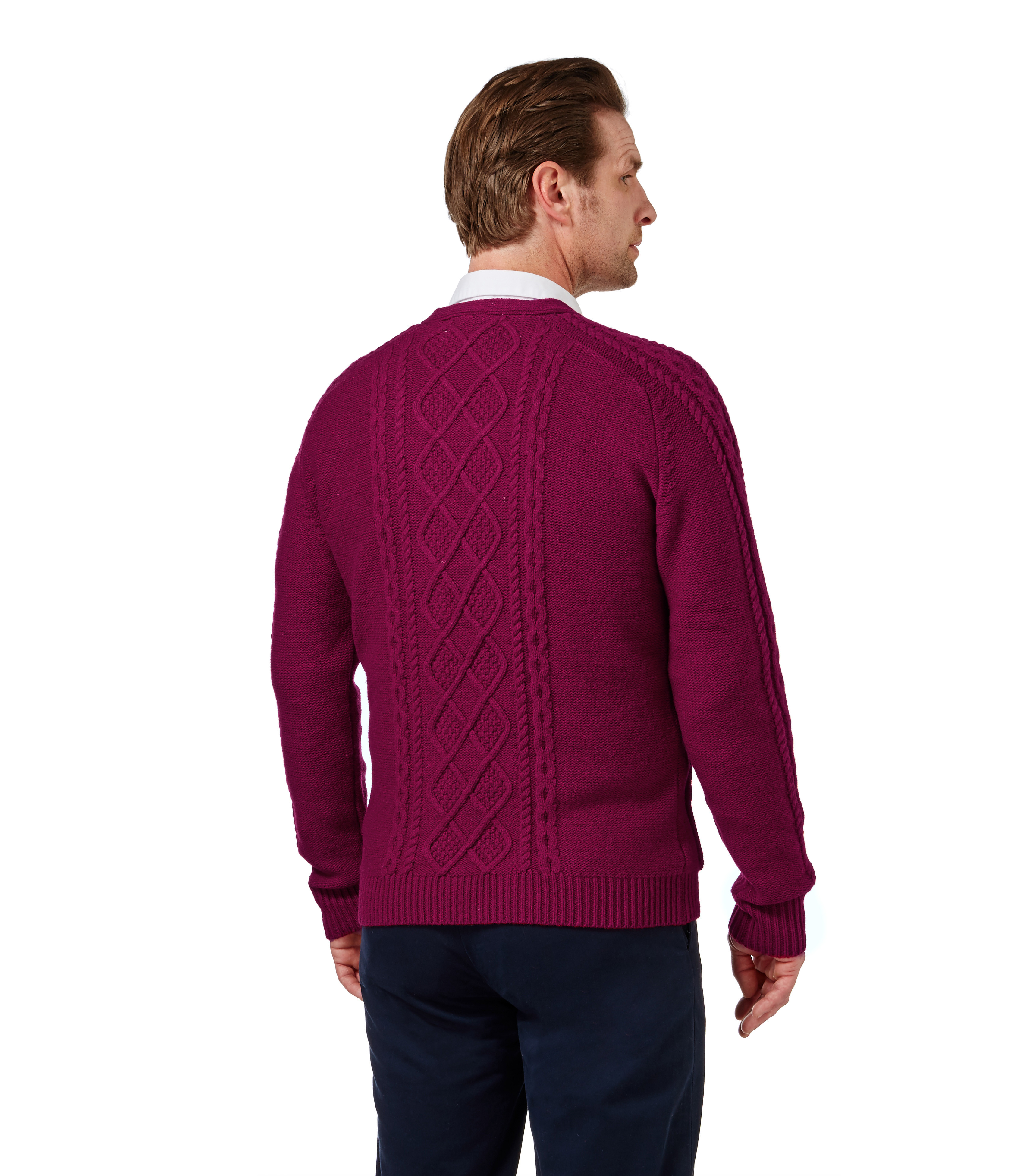 Lovely Woolovers Mens Long Sleeve Lambswool Cable V Neck Cardigan Mens Cable Cardigan Of Top 48 Pics Mens Cable Cardigan