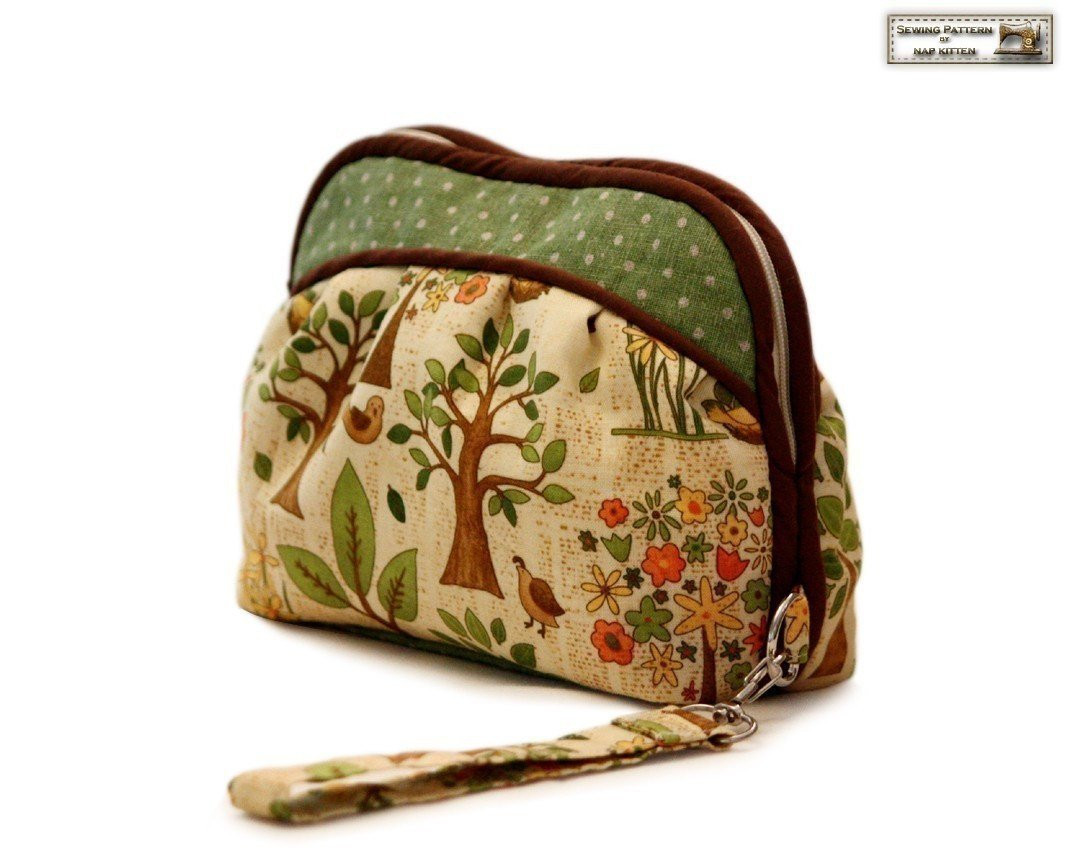 Lovely Zippered Clutch Sewing Pattern Makeup Bag Pattern Cosmetics Makeup Bag Pattern Of Wonderful 47 Photos Makeup Bag Pattern