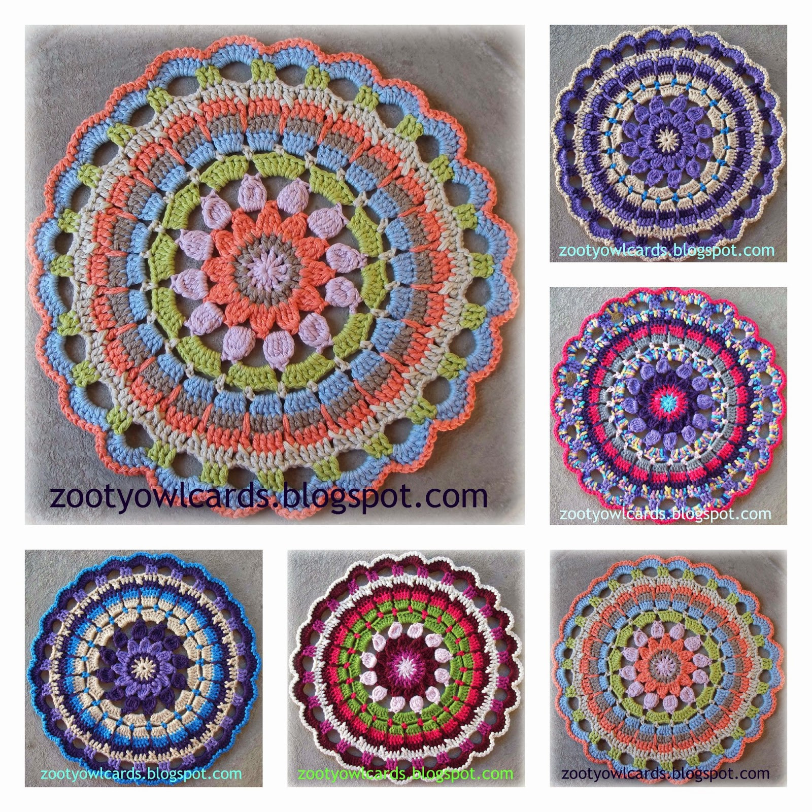 Lovely Zooty Owl S Crafty Blog Dahlia Mandala Pattern Mandala Crochet Patterns Of Beautiful 48 Pictures Mandala Crochet Patterns
