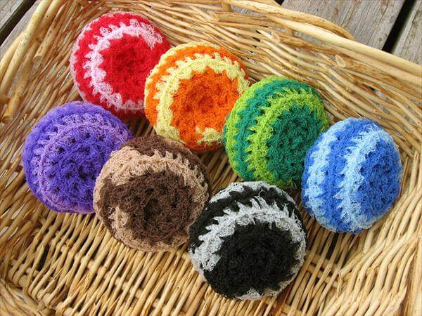 Luxury 10 Free Crochet Patterns for Spring Cleaning Scrubby Yarn Crochet Pattern Of Superb 47 Pics Scrubby Yarn Crochet Pattern