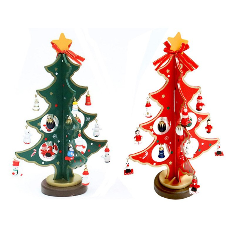 100 Attractive Wooden Christmas Tree Ideas