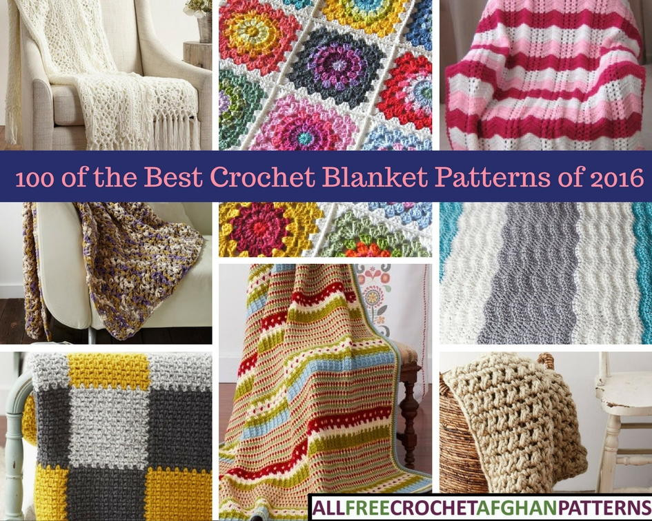 Luxury 100 Best Crochet Blanket Patterns Of 2016 Best Crochet Stitch for Blanket Of Perfect 45 Ideas Best Crochet Stitch for Blanket