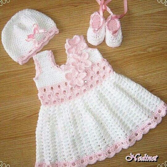 Luxury 1000 Ideas About Baby Dress Patterns On Pinterest Crochet Girl Dress Pattern Of Gorgeous 49 Photos Crochet Girl Dress Pattern
