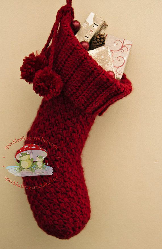 Luxury 1000 Ideas About Christmas Stocking Pattern On Pinterest Crochet Pattern for Christmas Stocking Of Elegant 40 All Free Crochet Christmas Stocking Patterns Patterns Hub Crochet Pattern for Christmas Stocking