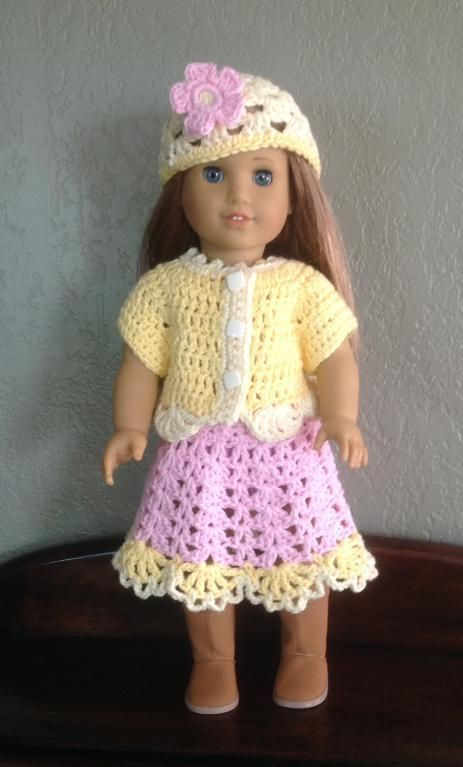 Luxury 1000 Images About American Girl Crochet On Pinterest American Girl Doll Crochet Patterns Of Adorable 47 Pics American Girl Doll Crochet Patterns