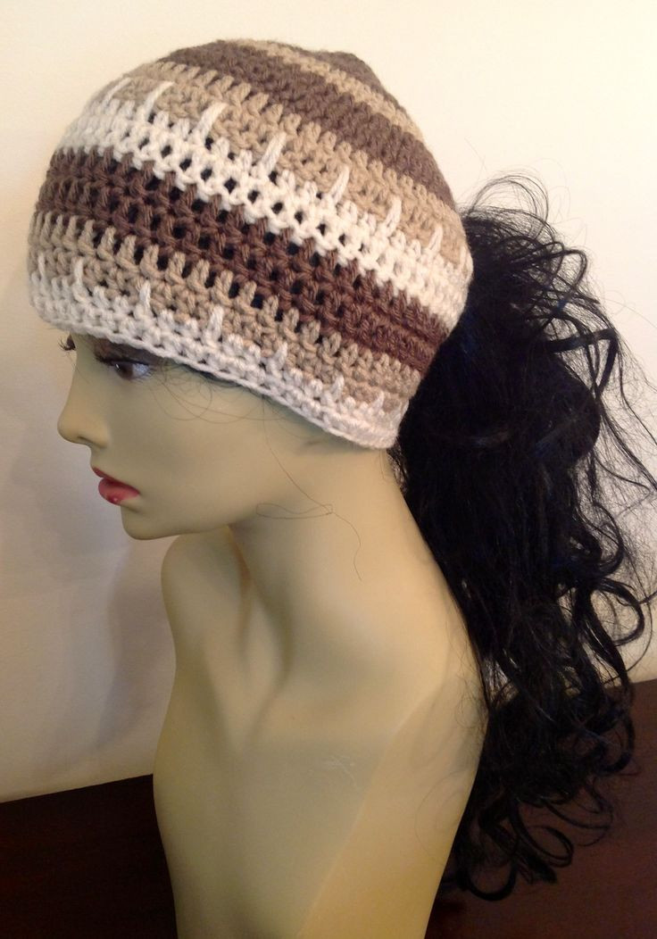 Luxury 1000 Images About Crochet Ponytail Hat On Pinterest Crochet Hat with Ponytail Hole Of Attractive 47 Pics Crochet Hat with Ponytail Hole