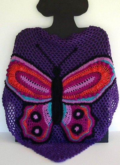 Luxury 1000 Images About Crochet Wraps Shawls Capes Poncho On Crochet butterfly Shawl Of Great 41 Photos Crochet butterfly Shawl