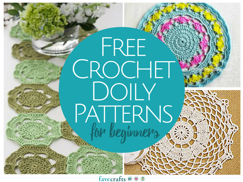 13 Free Crochet Doily Patterns for Beginners