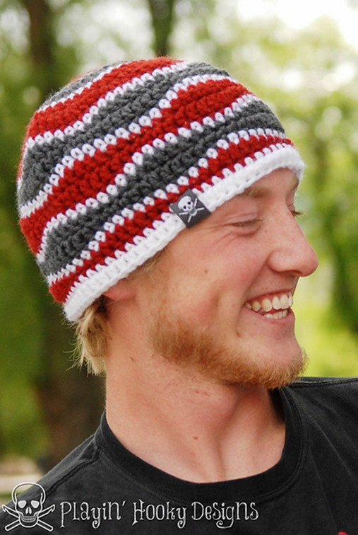 Luxury 15 Incredibly Handsome Winter Hats for Men to Knit or Crochet Crochet Mens Beanie Of Luxury 44 Ideas Crochet Mens Beanie