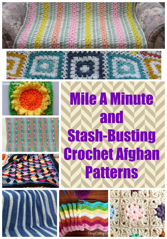 Luxury 15 Mile A Minute and Stash Busting Crochet Afghan Patterns Free Mile A Minute Crochet Patterns Of Marvelous 50 Pics Free Mile A Minute Crochet Patterns