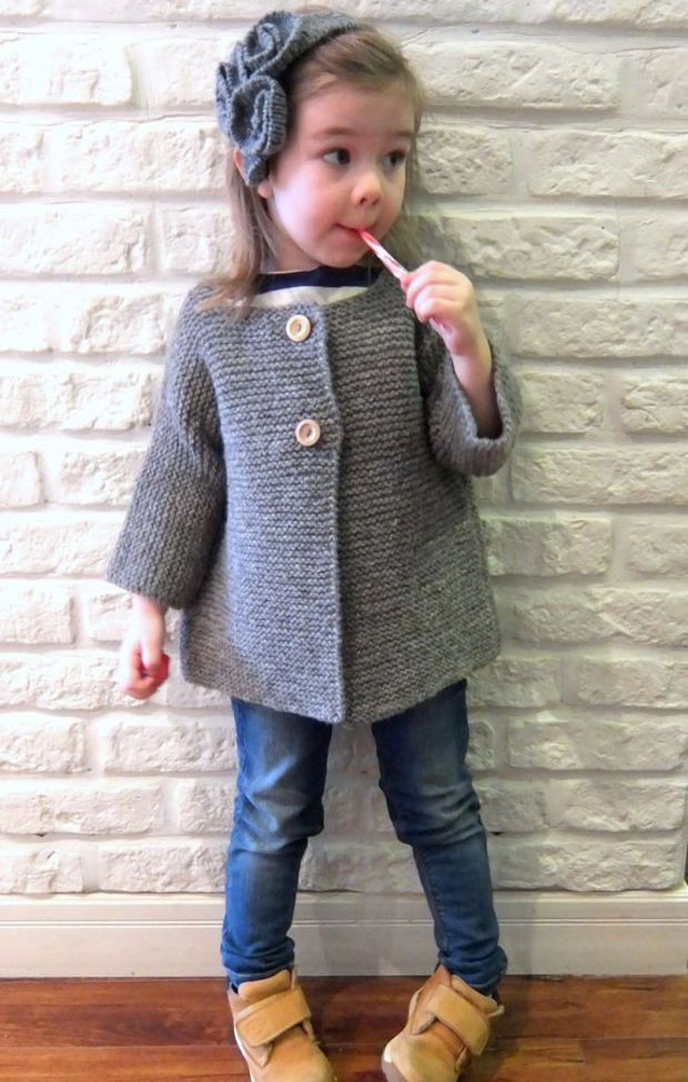 17 Best ideas about Knitted Coat on Pinterest
