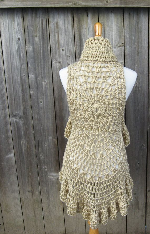 Luxury 17 Best Images About Crochet Vest Pattern On Pinterest Crochet Circular Vest Of Delightful 46 Models Crochet Circular Vest