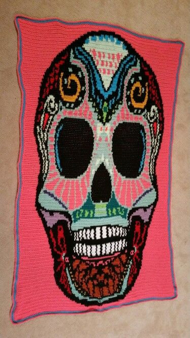 Luxury 17 Best Images About My Crochet Projects On Pinterest Crochet Sugar Skull Of Incredible 47 Pictures Crochet Sugar Skull