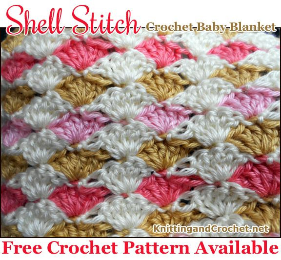 17 Best images about shell stich on Pinterest