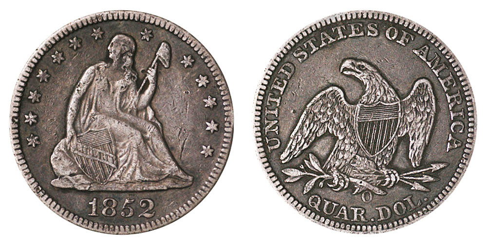 Luxury 1852 O Seated Liberty Quarters Value and Prices Liberty Quarter Value Of Contemporary 45 Photos Liberty Quarter Value