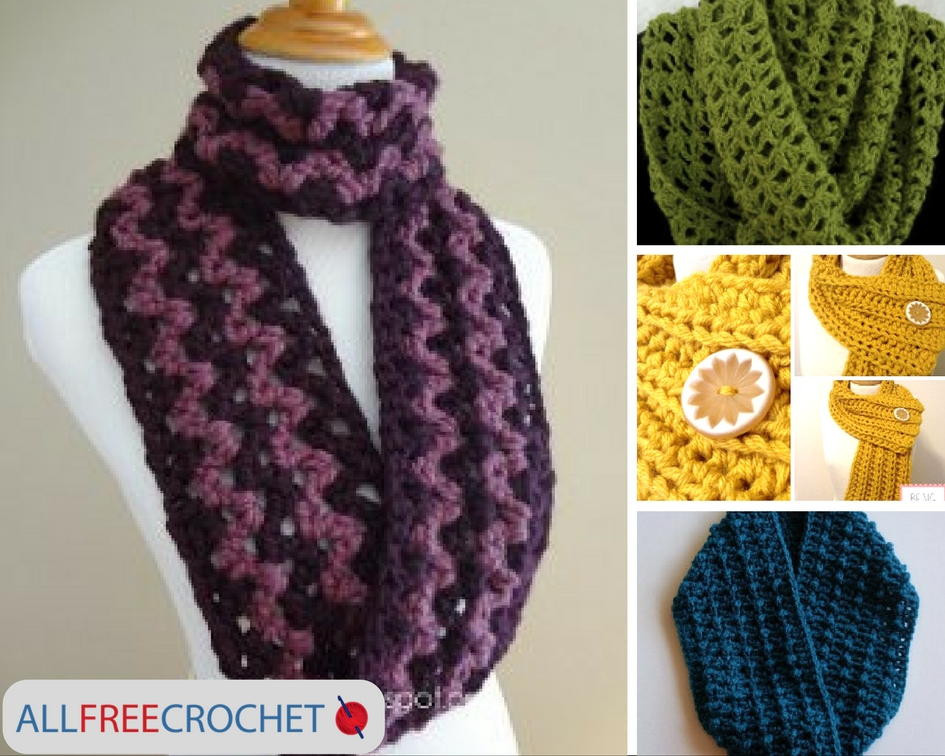 Luxury 19 Quick and Easy Crochet Scarves Easy Crochet Scarf Patterns Free Of Lovely 49 Images Easy Crochet Scarf Patterns Free