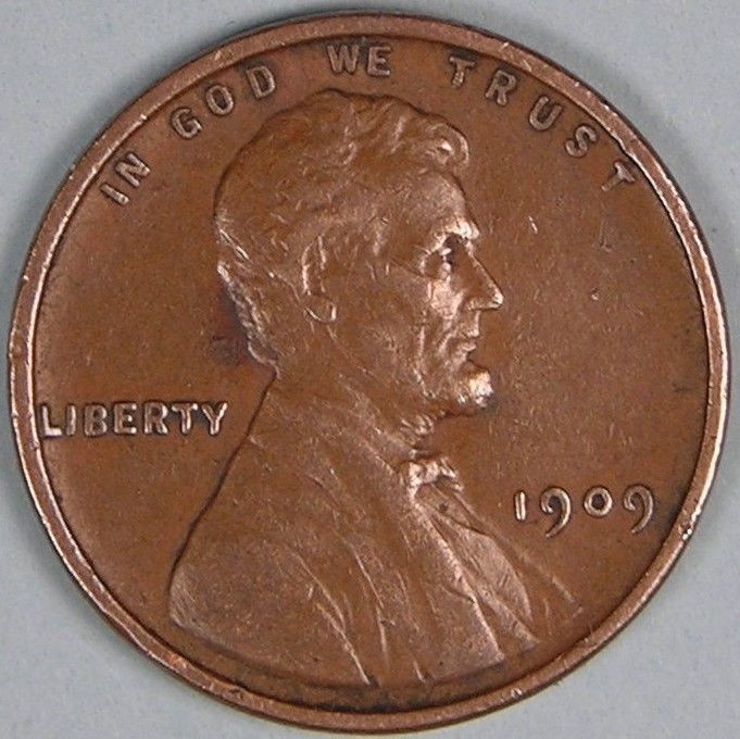 Luxury 1909 P Lincoln Wheat Penny Cent Em 462 Lincoln Cent Values Of Amazing 50 Images Lincoln Cent Values