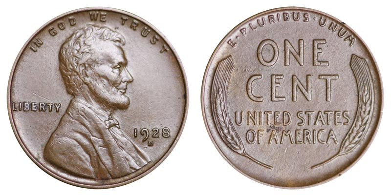 Luxury 1928 D Lincoln Wheat Cent Bronze Posite Penny Value Lincoln Cent Values Of Amazing 50 Images Lincoln Cent Values
