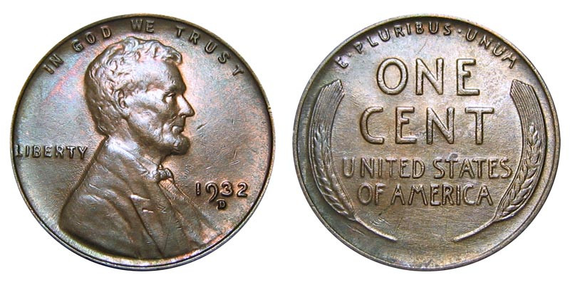 Luxury 1932 D Lincoln Wheat Cent Bronze Posite Penny Value Lincoln Cent Values Of Amazing 50 Images Lincoln Cent Values