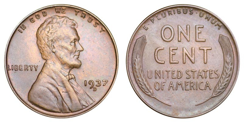 Luxury 1937 D Lincoln Wheat Cent Bronze Posite Penny Value Lincoln Cent Values Of Amazing 50 Images Lincoln Cent Values