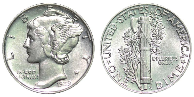 Luxury 1939 Mercury Silver Dimes Value and Prices Mercury Dime Prices Of Superb 49 Ideas Mercury Dime Prices