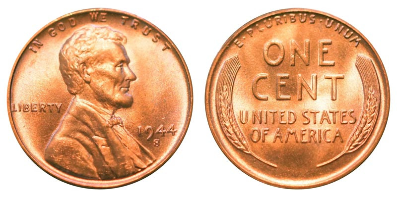 Luxury 1944 S Lincoln Wheat Cent Bronze Posite Penny Value Lincoln Cent Values Of Amazing 50 Images Lincoln Cent Values