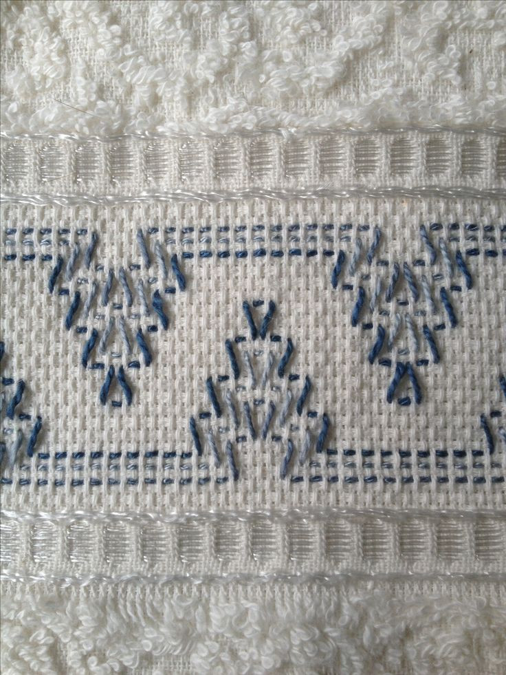 195 best images about Swedish Huck Embroidery on Pinterest